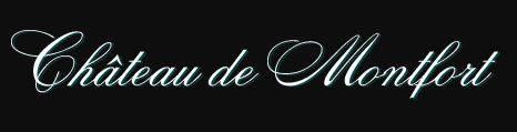 Logo Texte Château de Montfort
